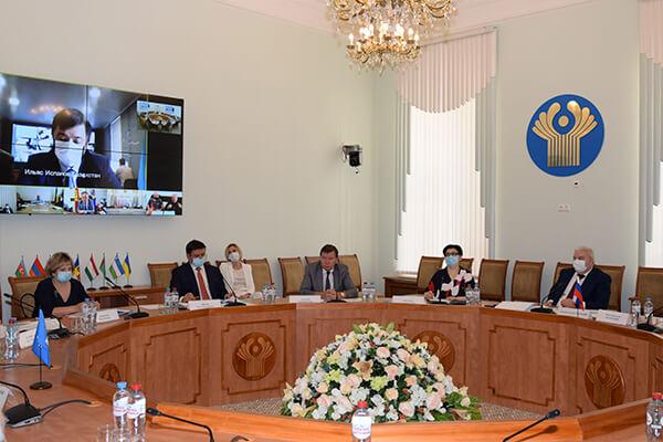 В формате видеоконференции состоялось ХVI заседание Консультативного совета руководителей госрезервов стран СНГ