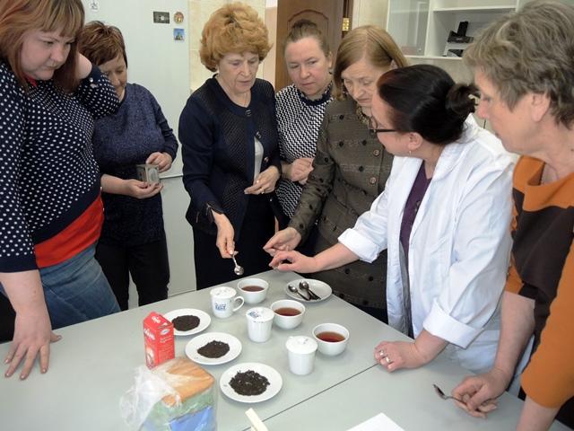 Рабочий визит сотрудников Колледжа Росрезерва в Институт